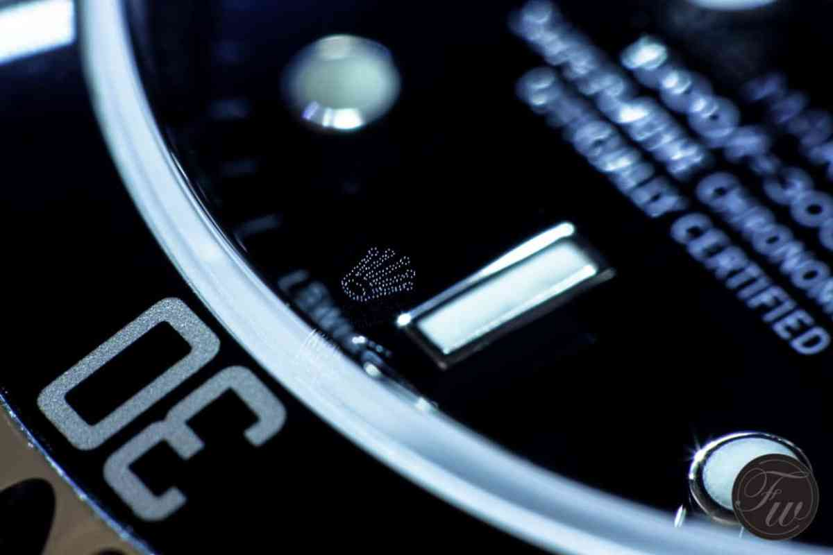 Rolex Laser Etched Crown - Watch Photography