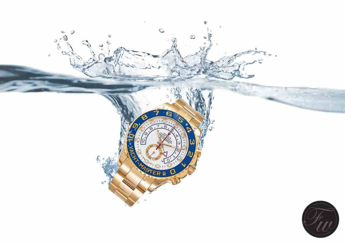 Rolex Yacht-Master Trickshot - Watch Photography