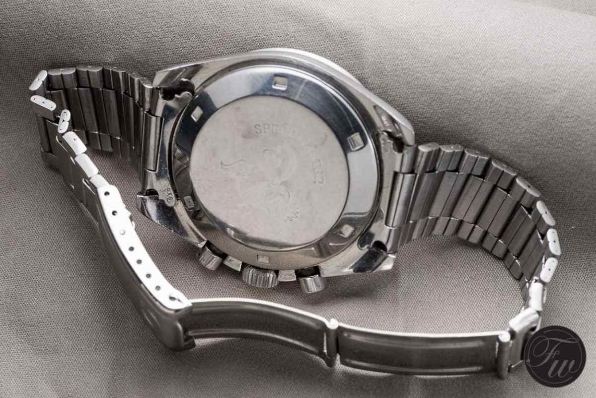 Blue dial Omega Speedmaster