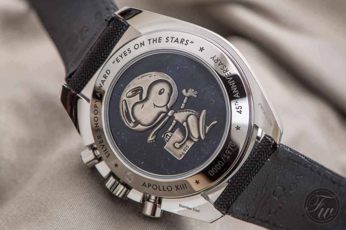 Omega Speedmaster Silver Snoopy Award - Top 5 BaselWorld Watches