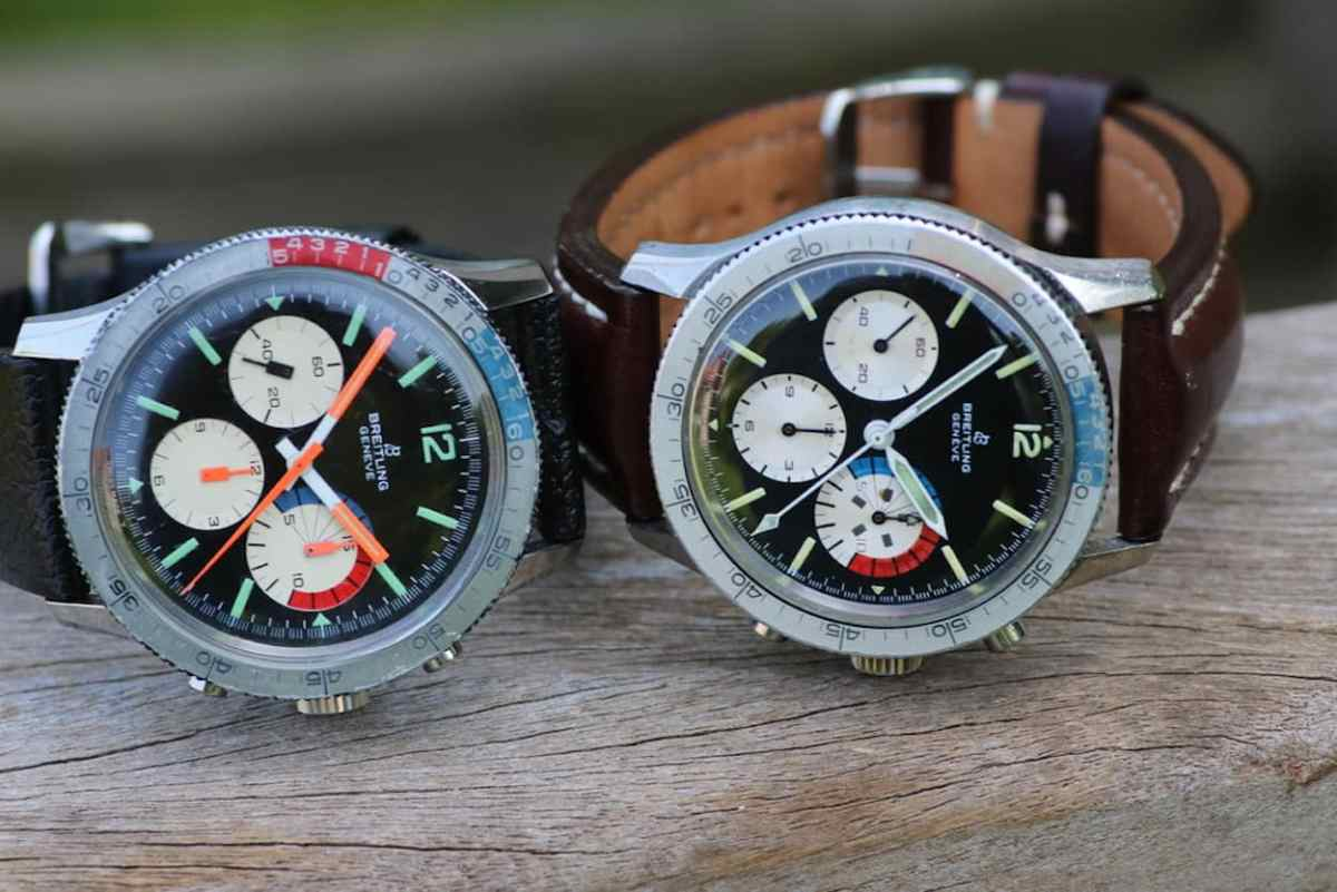 CP Yachting ref.765 from 1967(l) and 1966(r)