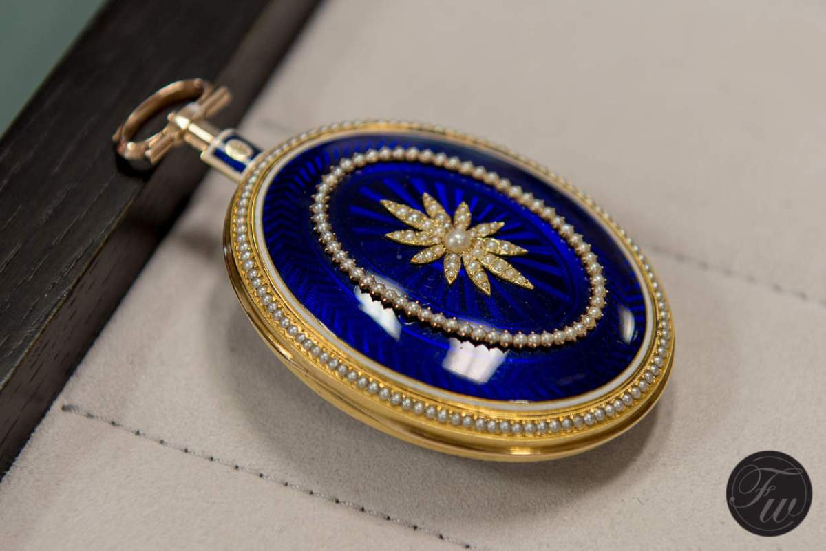fully restored pocket watch