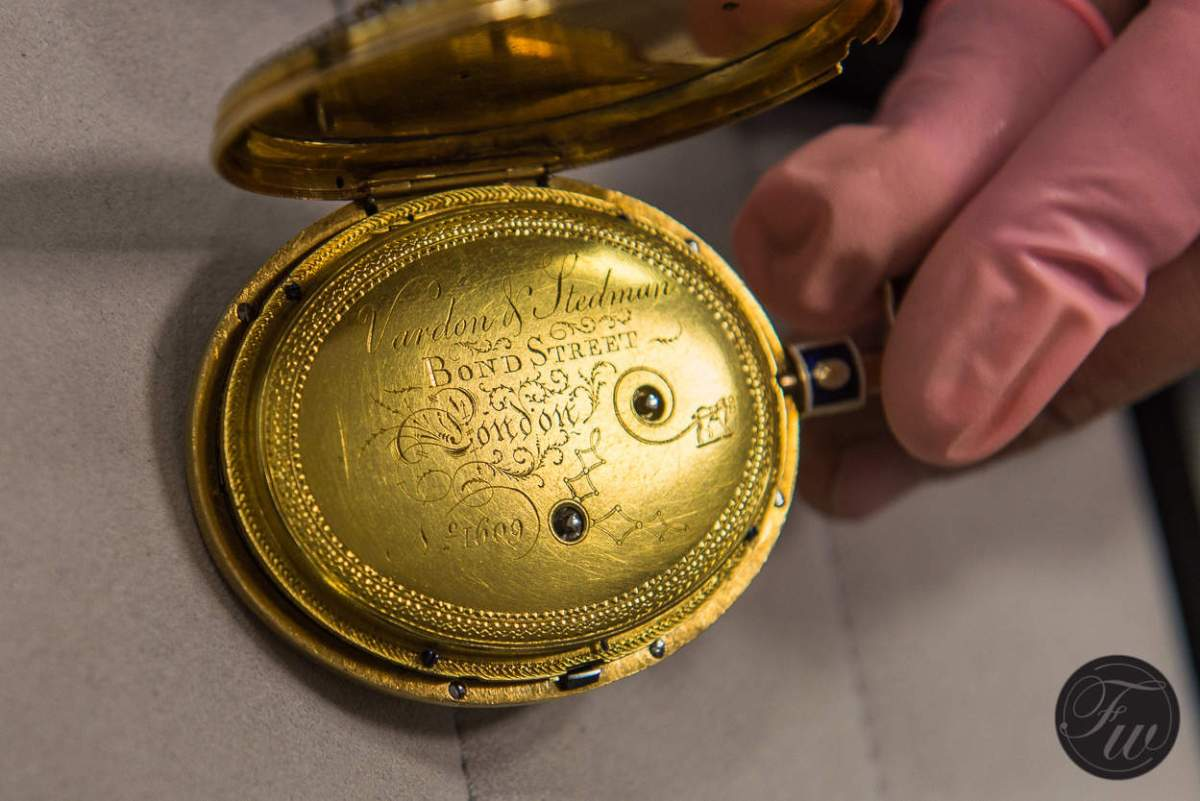 Vardon & stedman bond street pocket watch 1800's