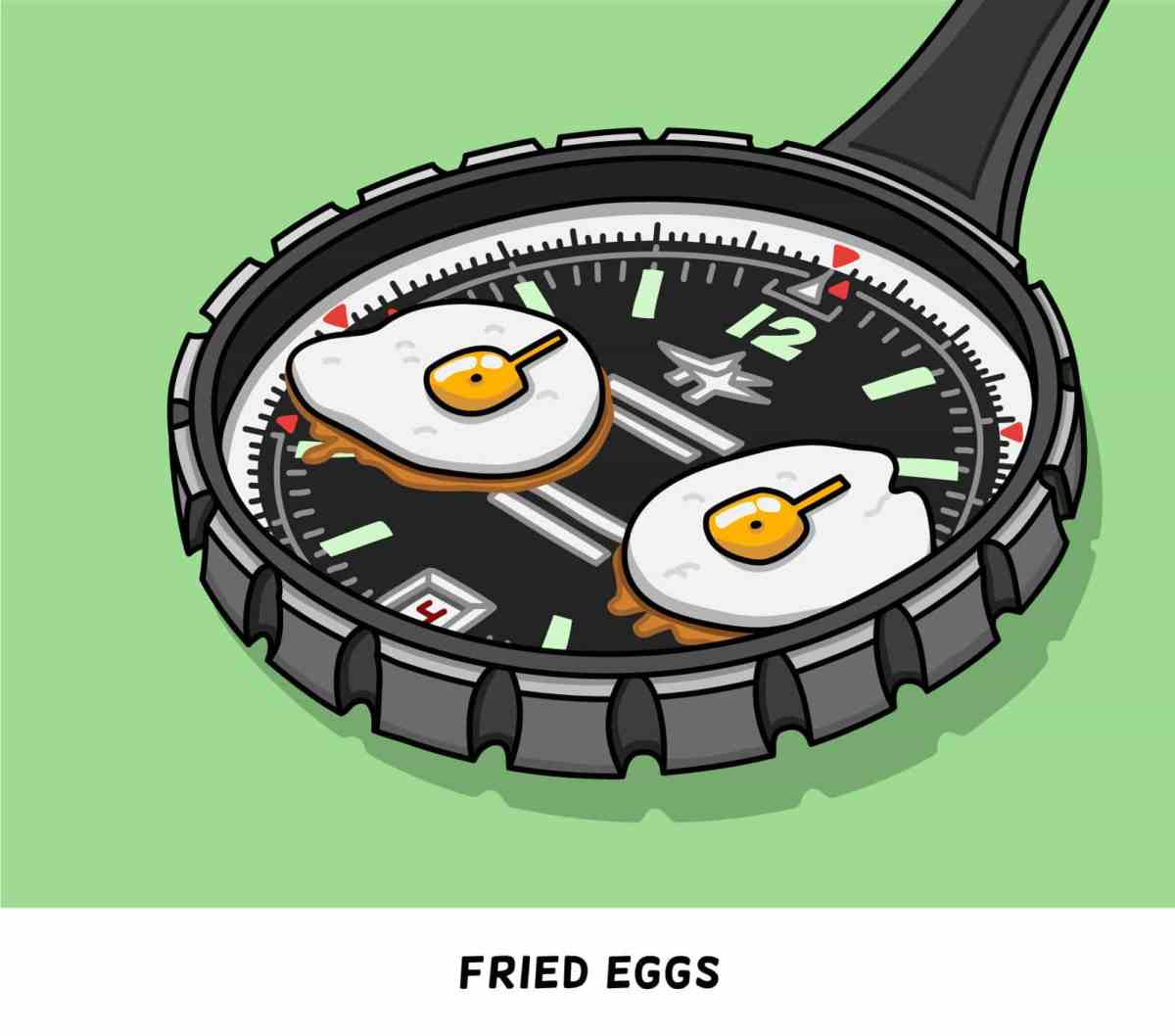 Breitling 1806 - Fried Egg