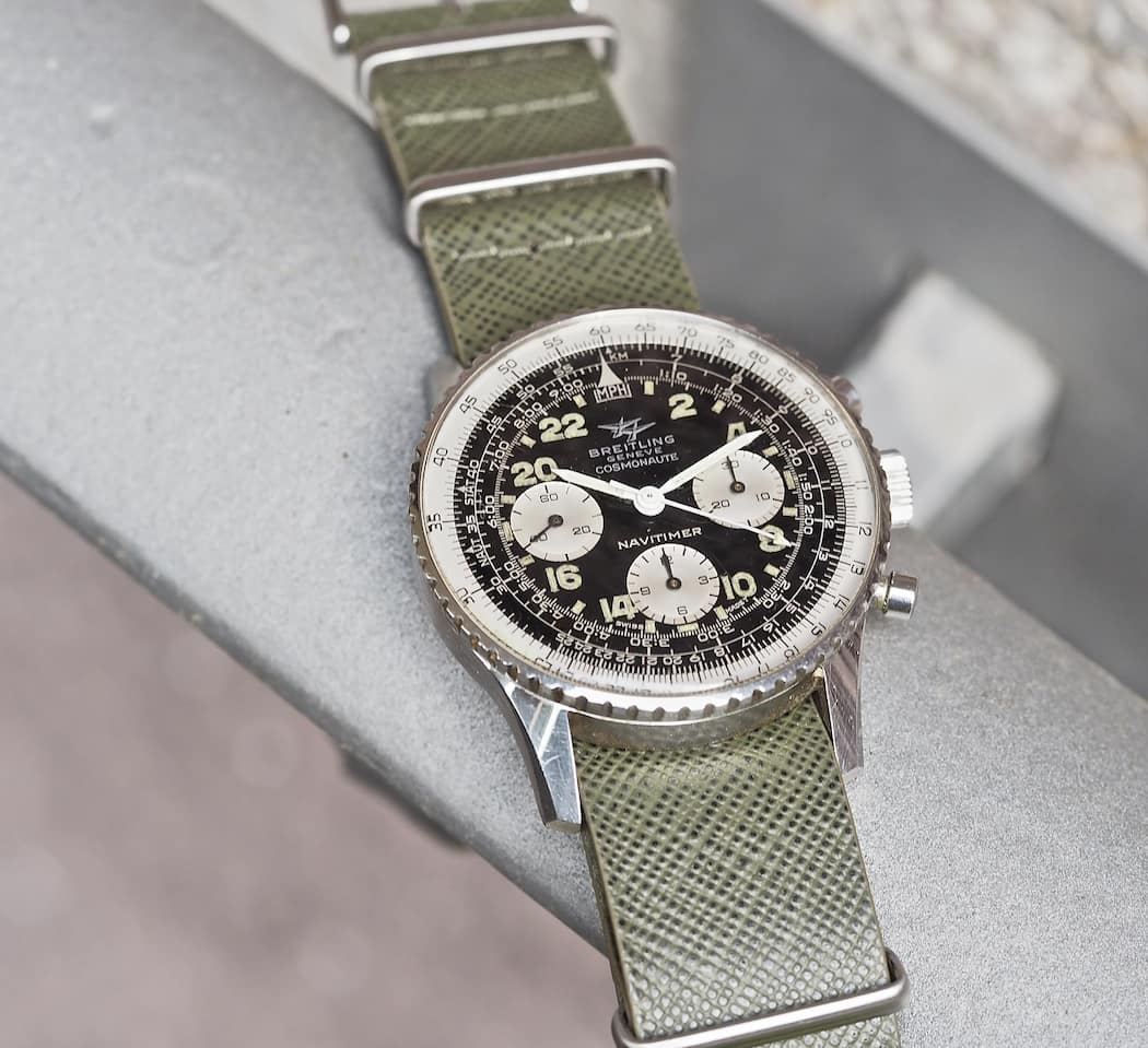 What time is it?!?! The Breitling 809 Cosmonaute doesn't make the answer easy!