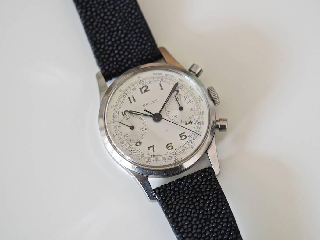 Gallet Multichron 45 is a simple, elegant chronograph