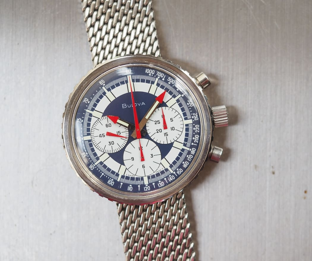 The Bulova Stars and Stripes contains one of the most distinctive dials I've ever seen