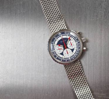 When taken in from a distance, the Bulova Stars and Stripes is really an attractive watch