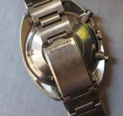 The H-link bracelet as found on the Seiko 6139 Pogue