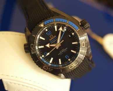 Omega Seamaster Planet Ocean Deep Black