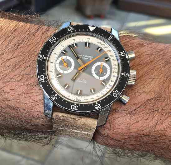 The Wakmann Big Boy on the wrist