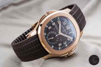 Patek Philippe Aquanaut Time Travel