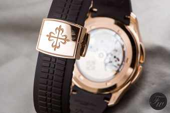Patek Philippe Aquanaut Travel Time