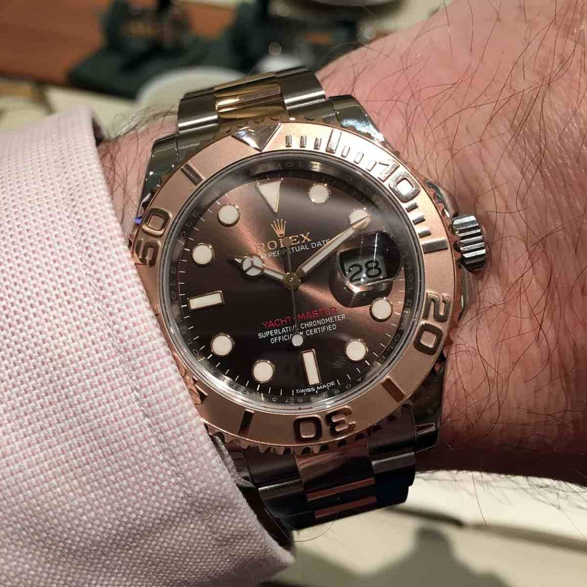 Rolex Yacht-Master 116621 wristshot
