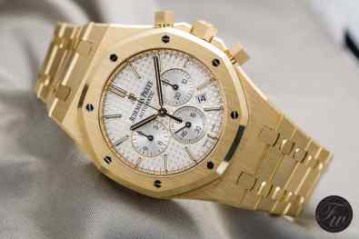 Audemars Piguet Royal Oak gold 26320BA