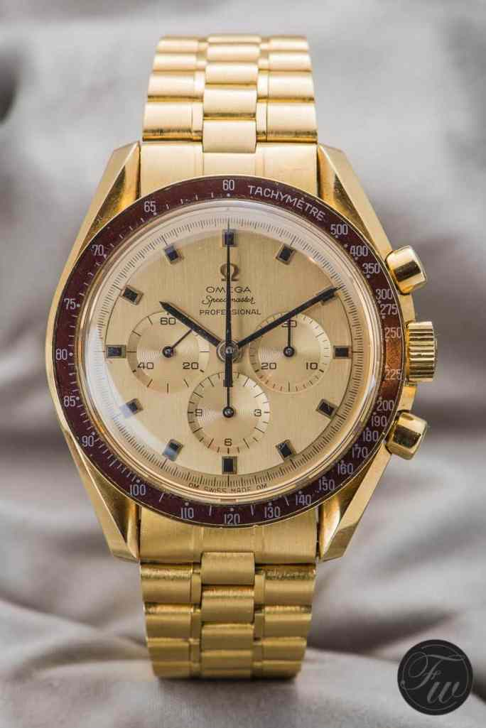 Gold Omega Speedmaster Professional Apollo XI 1969 BA145.022