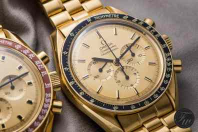 Gold Omega Speedmaster Professional Apollo XI 345.0802