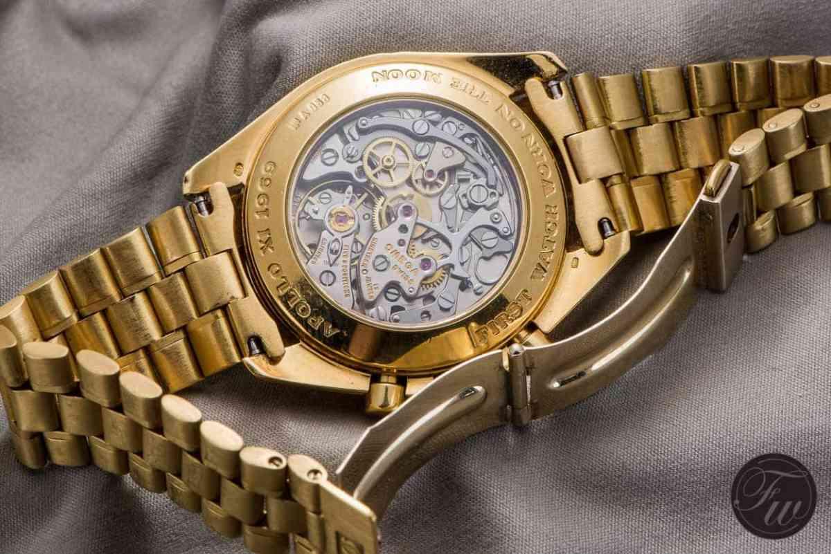 Gold Omega Speedmaster Professional Apollo XI BA145.022 345.0802