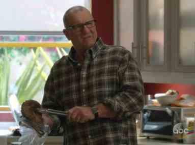 Ed O'Neill Wearing a Speedmaster