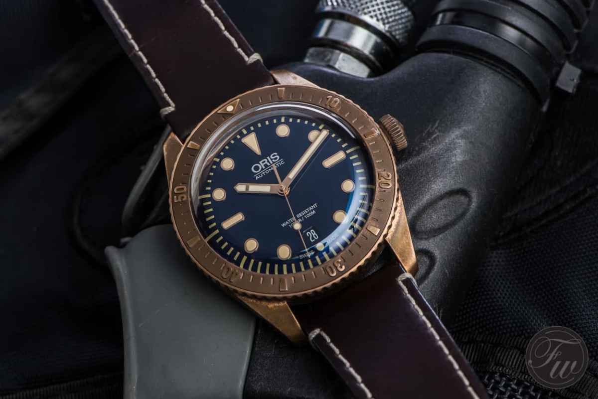 oris bronze review what does it look like after a