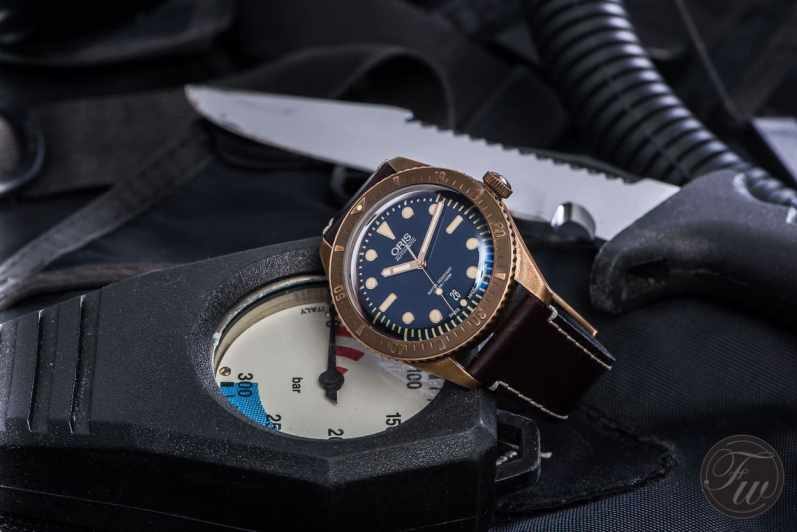 Oris Bronze Watch