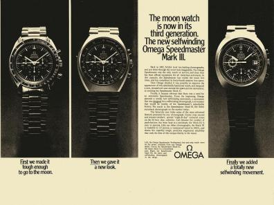 Speedmaster Mark III advertisement - OmegaMuseum.com