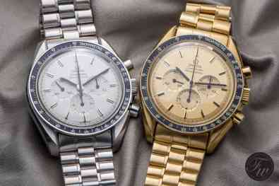Gold Speedmasters - reference 345.0802