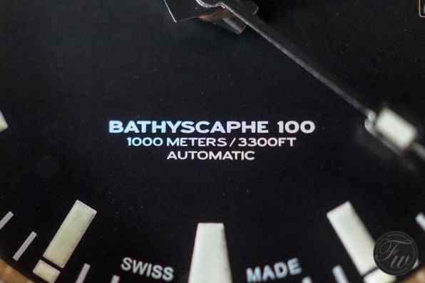 Aquadive Bathyscaphe 100 Bronze