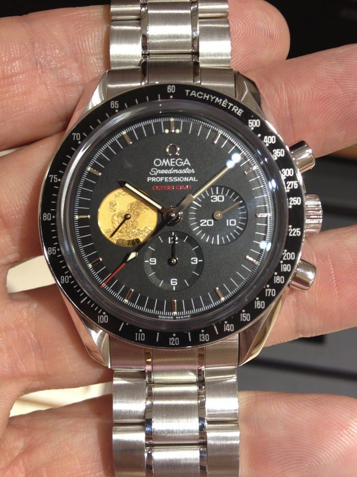 Omega Speedmaster Apollo XI 40th anniversary platinum