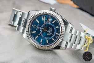 Steel Rolex Sky-Dweller