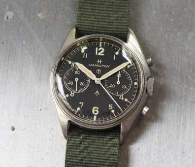 Hamilton Military Chronograph