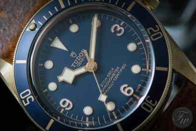 Tudor Heritage Black Bay Bronze Blue