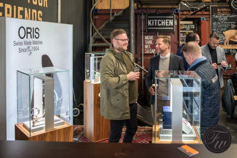 Oris Movember Edition presentation The Hague