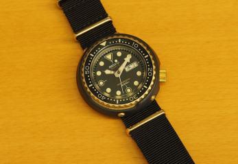 Seiko 7549 Golden Tuna