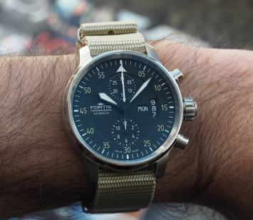 Fortis Cockpit One Chronograph