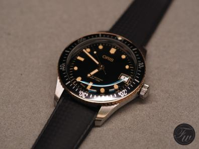 Oris Divers Sixty-Five Bronze Bezel