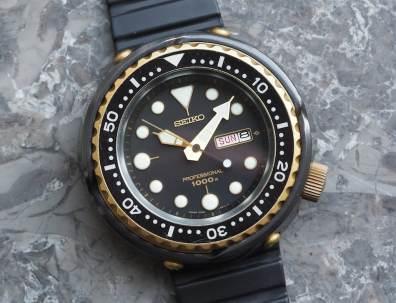Seiko 7C46 Golden Tuna