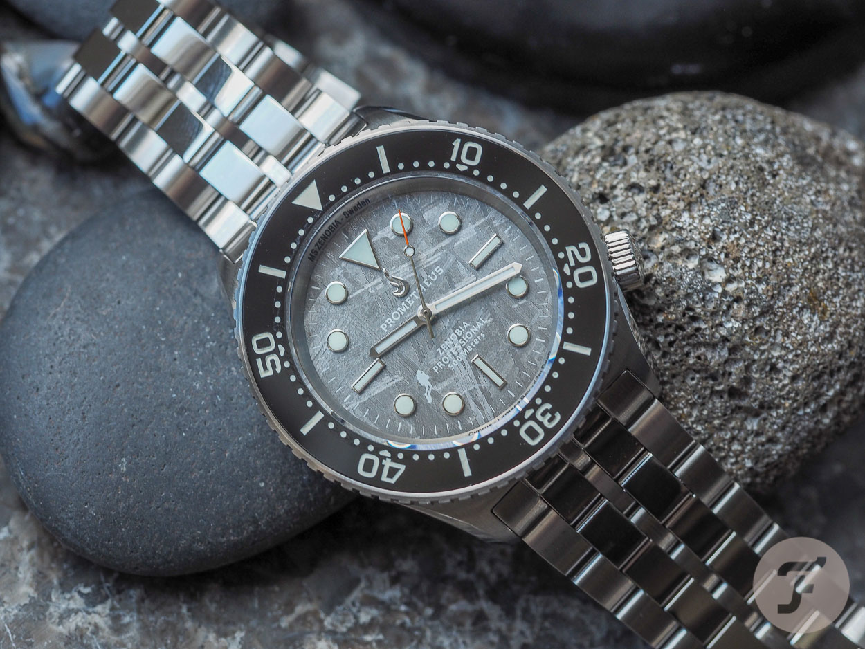 Prometheus Zenobia - The Latest Divers Watches Facebook Group Collab