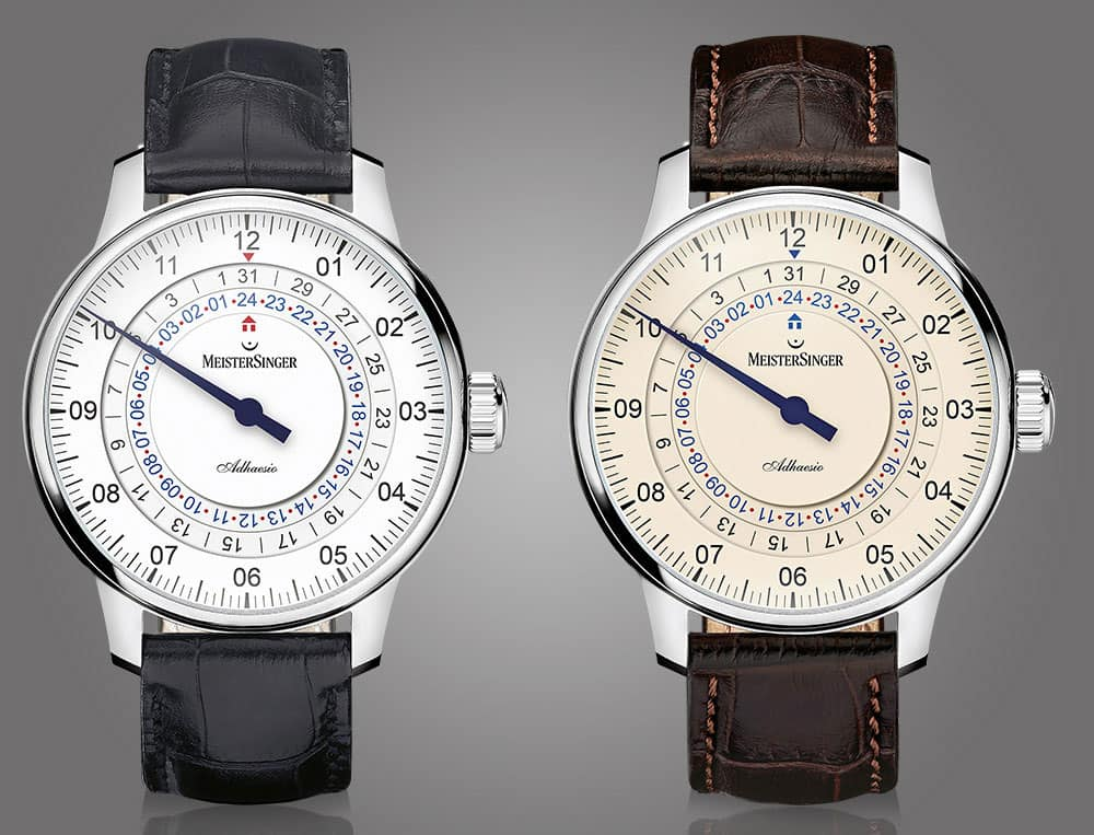 The Adhaesio is available in four coulors, here white and ivory.