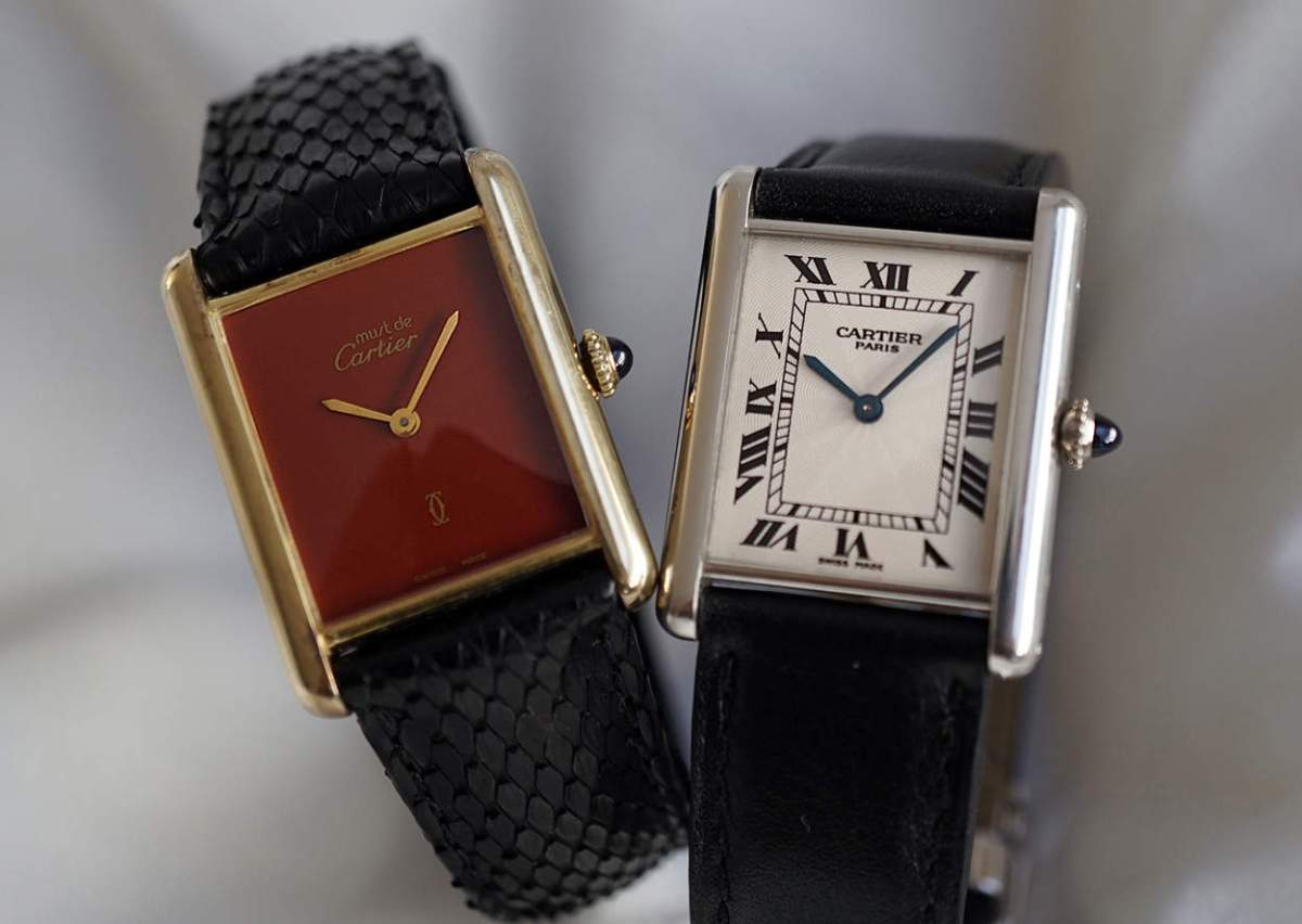 - Must de Cartier Tank and a Tank Louis Cartier -