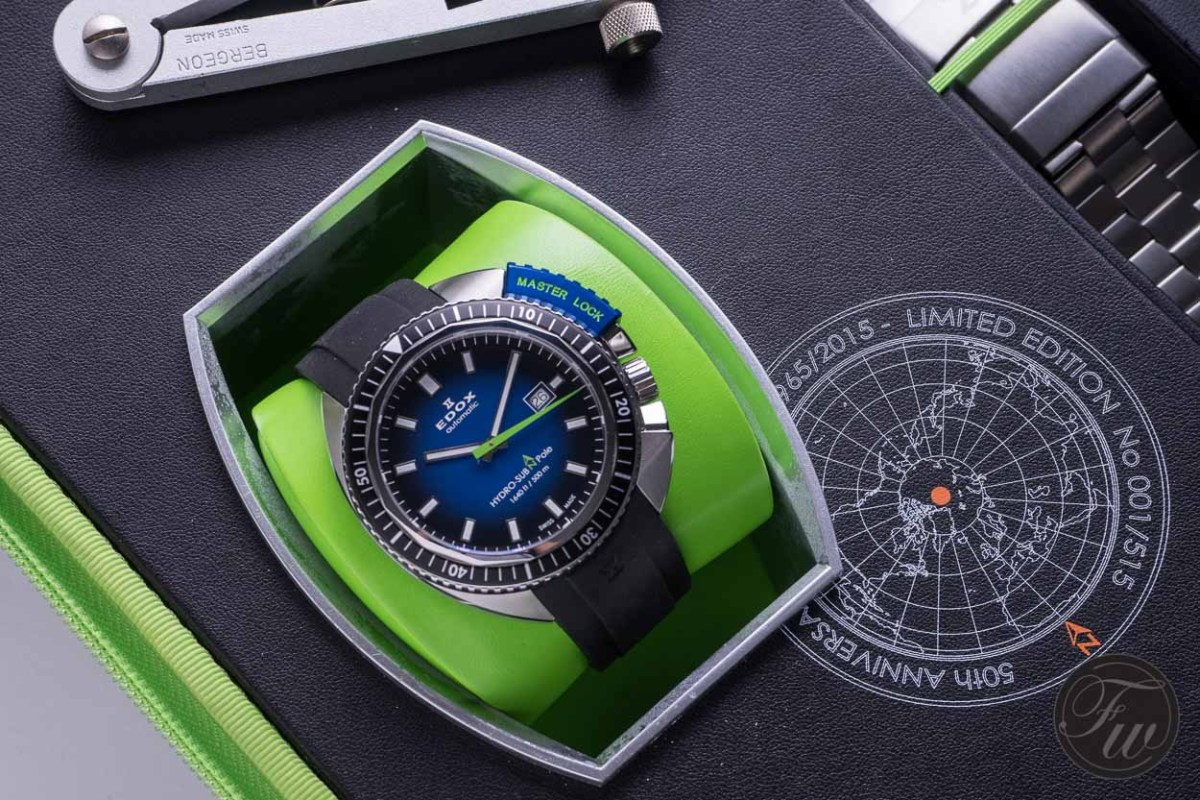 Edox Hydro-Sub 50th Anniversary Limited Edition 80301-3NBU-NBU