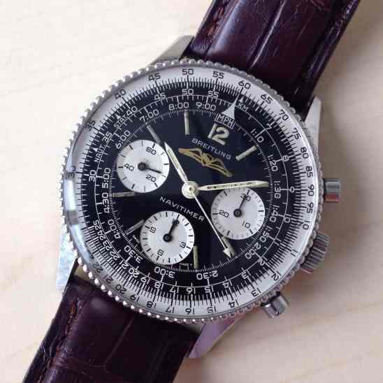 Breitling Navitimer 806 as received