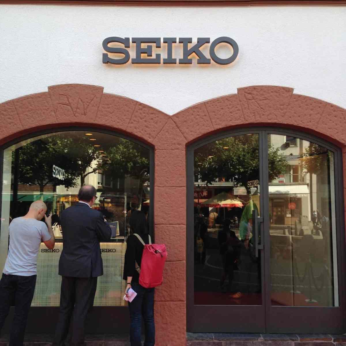 Seiko's new Frankfurt Boutique