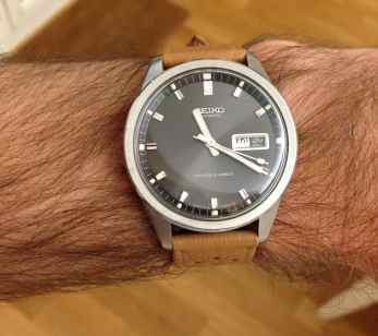 Seiko Sportsmatic on the wrist