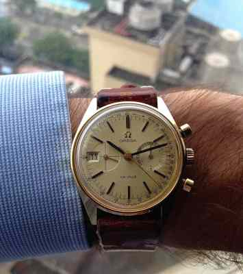 This watch fits wonderfully and does wear like a 36mm piece.