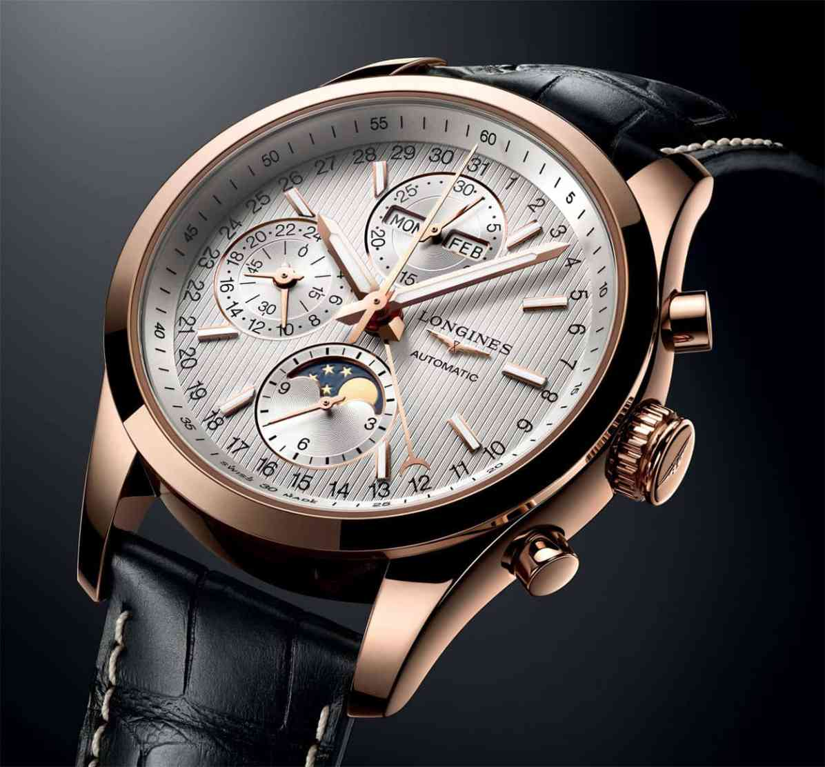 LonginesConquestClassicMoonphase-dial