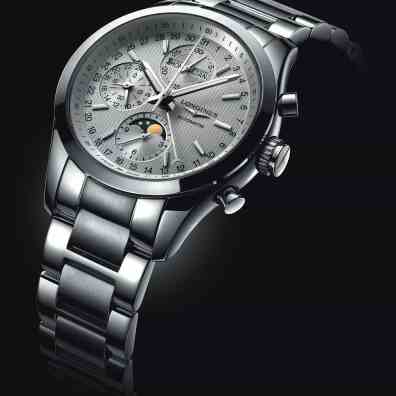 LonginesConquestClassicMoonphase-steel