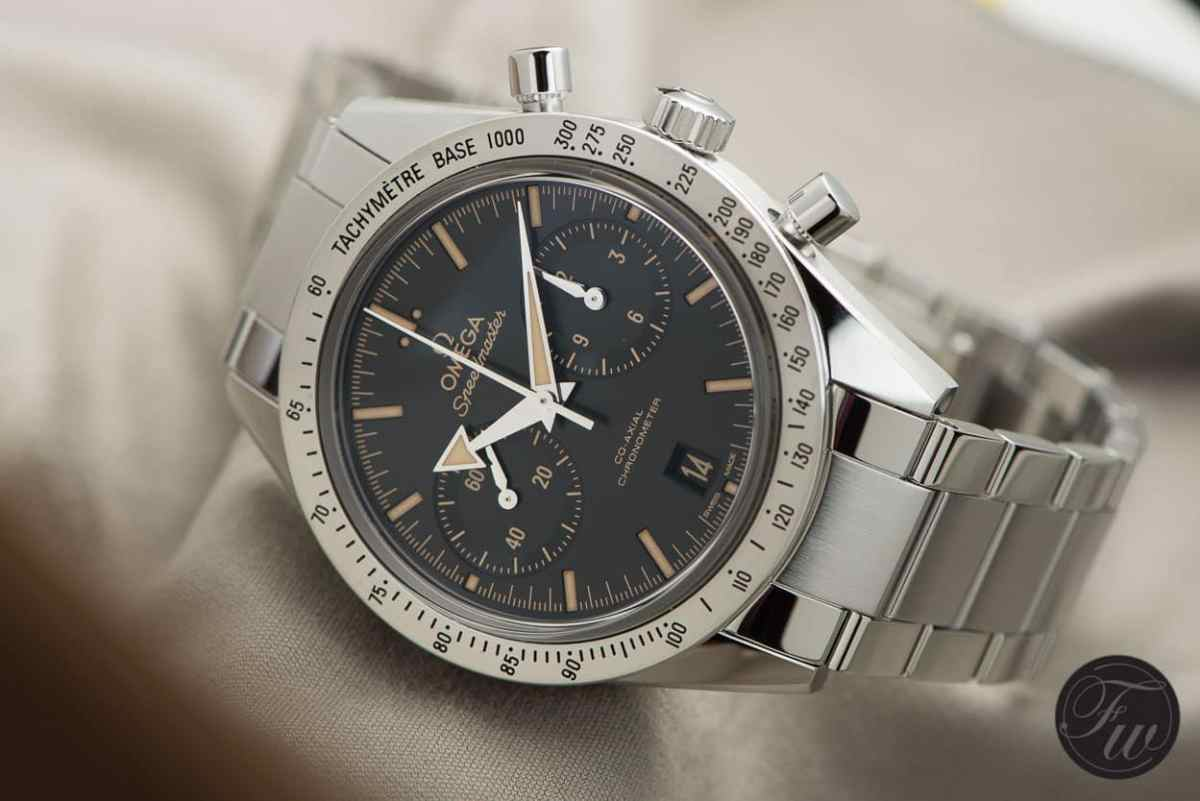 Omega Speedmaster '57 Faux Patina and Broad Arrow Hands