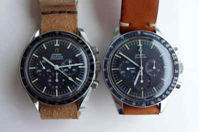 Speedmaster duo: 105.012-66CB and 105.003-65
