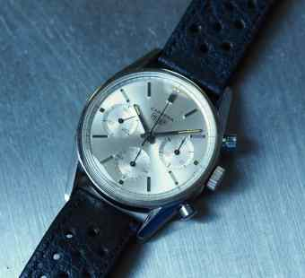 The Heuer Carrera 2447S is a classic chronograph in every sense